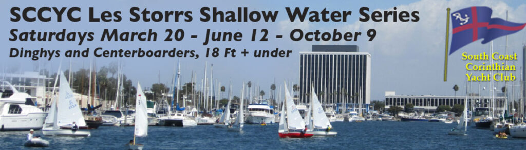 SCCYC Les Storrs Shallow Water Series for Dinghys and Centerboarders, 18ft + under